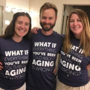What If Everything You've Been Told About Aging Is Wrong? - Shirt - Crew